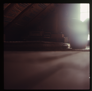 Montague Farm: Attic bedroom, Montague, linking to the digital object