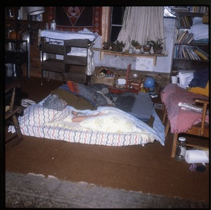 Wendell Farm: Sleeping on a mattress on the floor