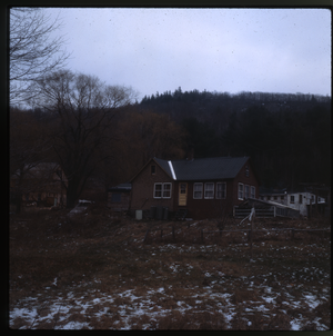 Wendell Farm: Farm in snow, linking to the digital object