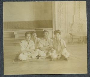 Mr Kamaguchi -- Mr. Kitagaki -- Prof. Yamashita -- Mrs. Yamashita