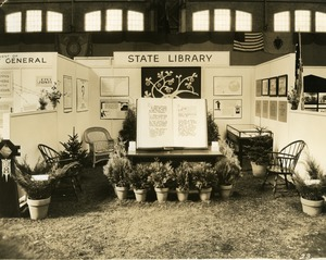 State Library booth