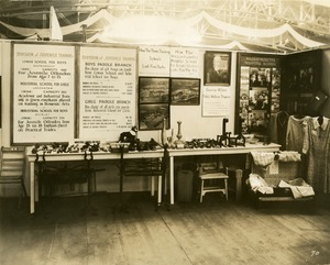 Division of Juvenile Training: Massachusetts Hospital School booth