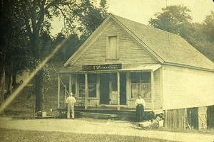 E. S. Putnam's general store, Wendell, Mass.
