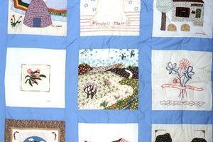 Wendell (Mass.) Bicentennial Celebration: Bicentennial quilt