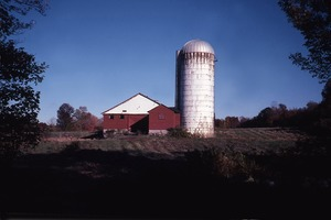 Wendell (Mass.) Bicentennial Celebration: barn and silo