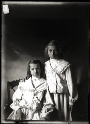 Emma and Margaret Billings (Greenwich, Mass.)