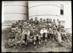 Hillside School students (Greenwich, Mass.)
