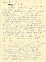 First page of Letter from Joel M. Halpern to Nettie and Carl Halpern
