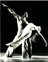 First page of Luxuriation: Richard Jones holding dancer