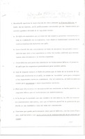 First page of Memoranda: Peronist representatives