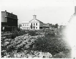 First page of Community garden with meetinghouse in background