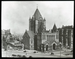First page of Trinity Church, Copley Square