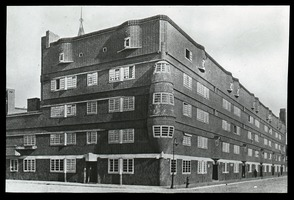 First page of Het Schip (functional style apartment building)