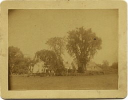 First page of Asa's old farm home in Amherst, Mass., before any improvements