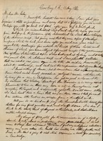 First page of Letter from Benjamin Smith Lyman to J. Peter Lesley