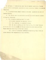 First page of Organizational List of the National Association for the Advancement of Colored People.[Fragment]
