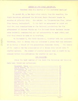 First page of Report of the Field Secretary