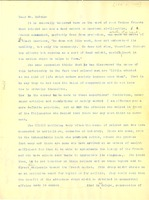 First page of Translation of letters from Isaac Beton to W. E. B. Du Bois