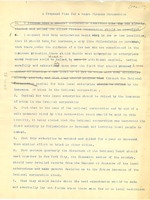 First page of A proposed plan for a Negro finance corporation