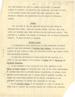 First page of Pan African Congress resolutions [fragment]