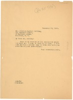 First page of Letter from W. E. B. Du Bois to William English Walling