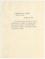 First page of Memorandum from W. E. B. Du Bois to New York Public Library