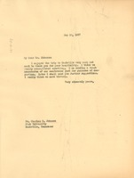 First page of Letter from W. E. B. Du Bois to Fisk University