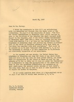 First page of Letter from W. E. B. Du Bois to Georgia Association of Negro Colleges and             Secondary Schools