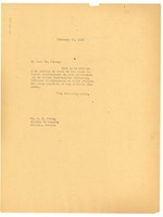 First page of Memorandum from W. E. B. Du Bois to Atlanta University