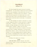 First page of Julius Rosenwald Fund fellowships, 1940