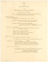 First page of Phylon Institute program
