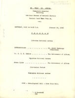 First page of So This is Africa program