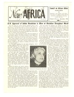 First page of New Africa volume 5, number 11