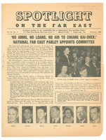 First page of Spotlight on the far east