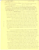 First page of Letter from W. E. B. Du Bois to Du Bois Williams