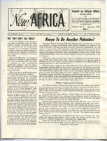 First page of New Africa volume 9, number 4