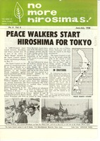First page of No more Hiroshimas! No. 6 Vol. 5