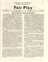 First page of Fair Play, volume 2, number 15
