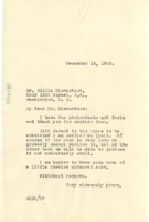 First page of Letter from W. E. B. Du Bois to Willis Richardson
