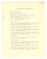 First page of Program for national Negro history week