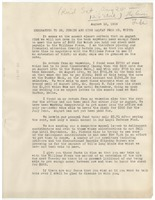 First page of Memorandum from N.A.A.C.P. to W. E. B. Du Bois and Irene Malvan