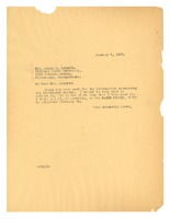 First page of Letter from W. E. B. Du Bois to Daisy E. Lampkin