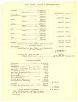 First page of Crisis income