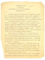 First page of A  proposed pageant to celebrate the adoption of the thirteenth amendment             abolishing slavery
