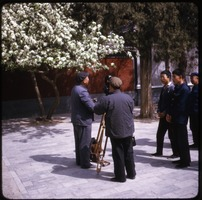 First page of Film makers Chinese camera crew with onlookers