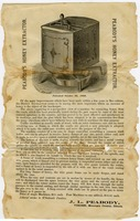 First page of Peabody's honey extractor