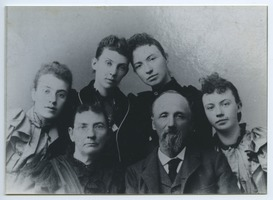 First page of Frantz family portrait