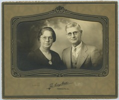First page of Lillian Mae Frantz and Roy Irey