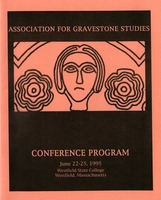 First page of The  Association for Gravestone Studies, 18th conference and annual meeting Westfield State College, Westfield, Massachusetts, June 22-25, 1995