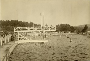 First page of Diving from the high diving board at Lake Rohunta